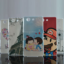 New Hot High Quality Painted Cute Cartoon UV Print Hard Housing Cover Case For SONY Xperia Z3 Compact Z3 mini M55W Cases Shell