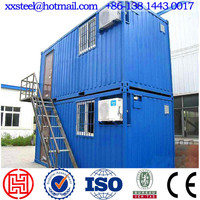Prefabricated house building container house