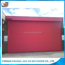 Colorful and Strong Roller Shutter Durable Vertical Roll Down Hurricane ShuttersRoll up Garage Doors