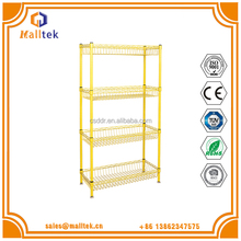 Company Chrome wire shelves 4-Tier Metal Rack