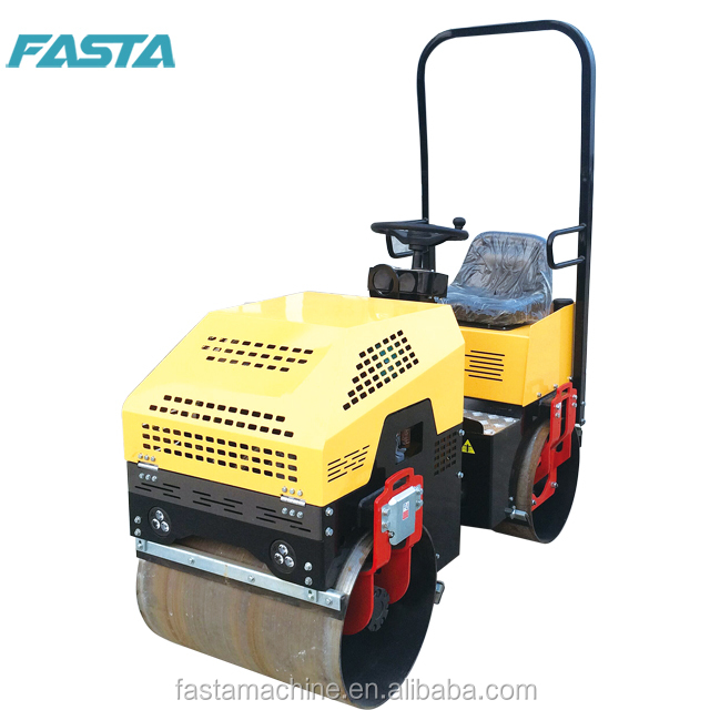 FASTA FVR 880P880D 1 ton ride on driven road <strong>roller</strong> for sale