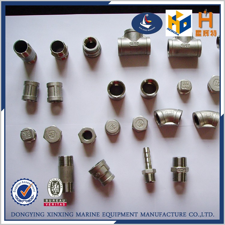 Factory price stainless steel pipe tee fittings