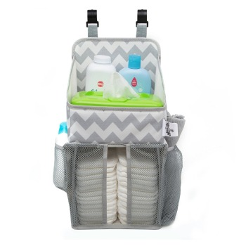 Baby Diaper Caddy and Nursery Storage Organizer