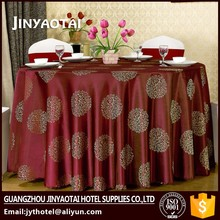 Wedding manufacter square best selling jenny bridal table cloth