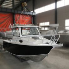 Large Offshore Aluminum Cabin Boat for Family Fishing