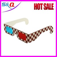 OEM printing Red Blue Paper 3D glasses Reality Virtual glasses