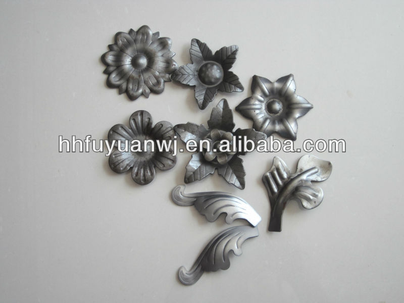 Garden Gate Oil-coated Iron Art Stamping Parts