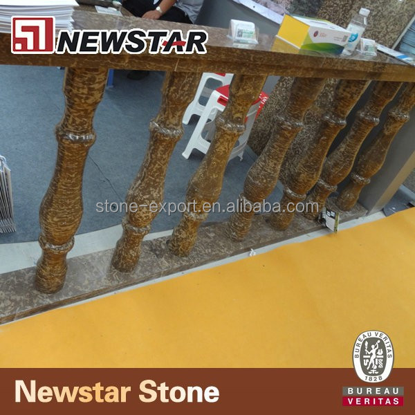 Granite and marble decorative balusters