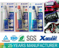 Auto sealing 343 high temperature RTV silicone gasket maker manufacturer with good price