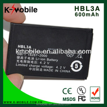 Genuine HBL3A Battery For HUAWEI C3308 C2807 C2607 C2610 HBL3A C2801 C2601 C2611