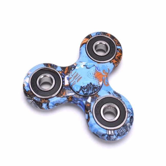Wholesale anti anxiety desk toy alunimun hand fidget spinner