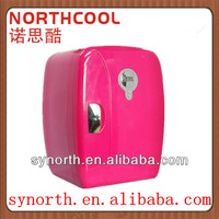 15L Pink Mini Car Travel Thermoelectric Fridge with LED display cooler and warmer