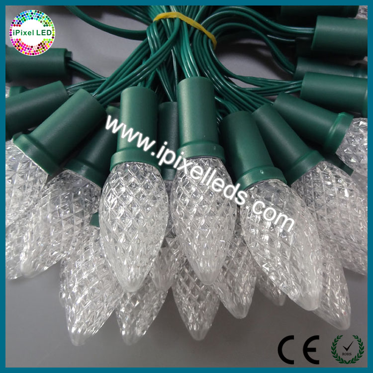 waterproof string lights 6.5m length ws2811 programmable led christmas lights