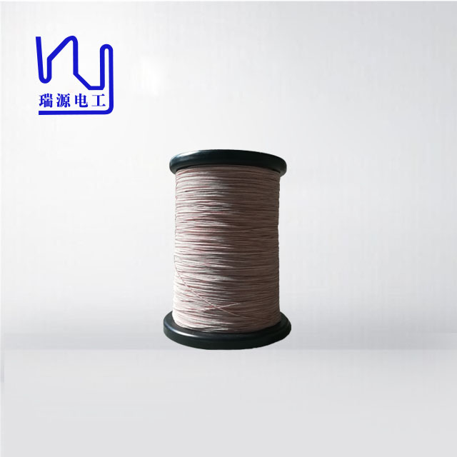 112 x 0.08 high frequency stranded silk covered litz <strong>wire</strong>