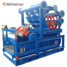 oil drilling Slurry mud treatment system Mud Cleaner