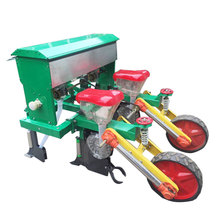 Spacing adjustable maize seeder planter