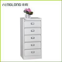 Cheap steel office furniture 5 drawer metal file cabinet