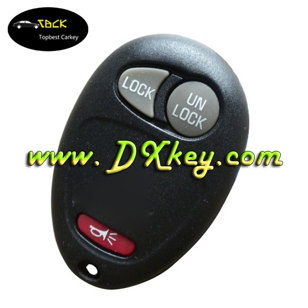 Wholesale 2+1 button car remote control case for buick GL8 key shell with battery holder key blank