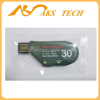 USB Single Use Cold Chain PDF Temperature Data Logger