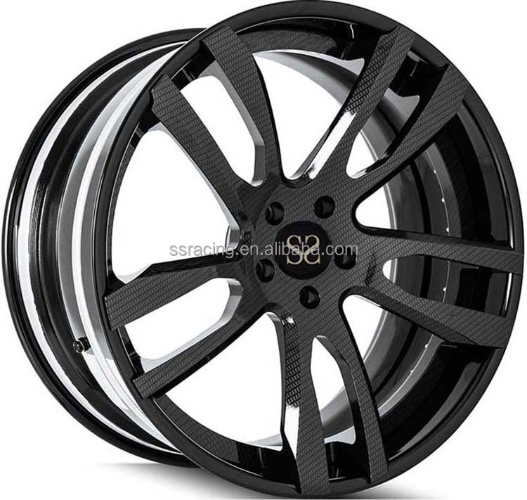 "Wheels for Cars /21"" Black 2-<strong>PC</strong> forged wheels from China"