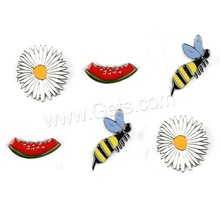 Cartoon Enamel Mini Brooch Funny Fashion DIY Lapel Pin Brooch