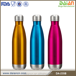 Custom logo single layer SS drink Bottle