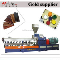 ABS/PC//PP /PE Plastic material dyeing and recycling plastic pelletizing line