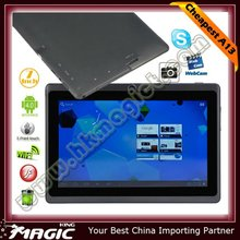 Hot selling! 7 inch capacitive touch android 4.0 allwinner a13 mid