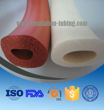 Closed Cell FDA Grade Silicone Sponge Foam Rubber Tube/ Tubing /Hose /Pipe/Sleeving