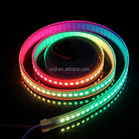 1 led/pixel WS2812B 5050 RGB LED Strip 144leds/m DC5V Waterproof