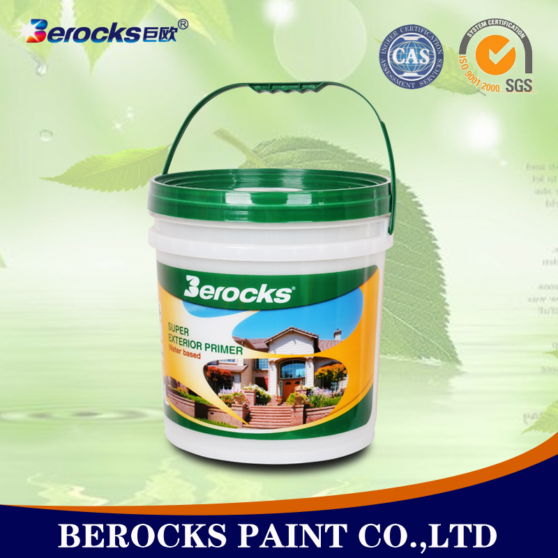 Wall putty/water based building exterior paint