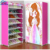 2015 Hot sale DIY modern colorful folding carry rack shoe cabinets for sale