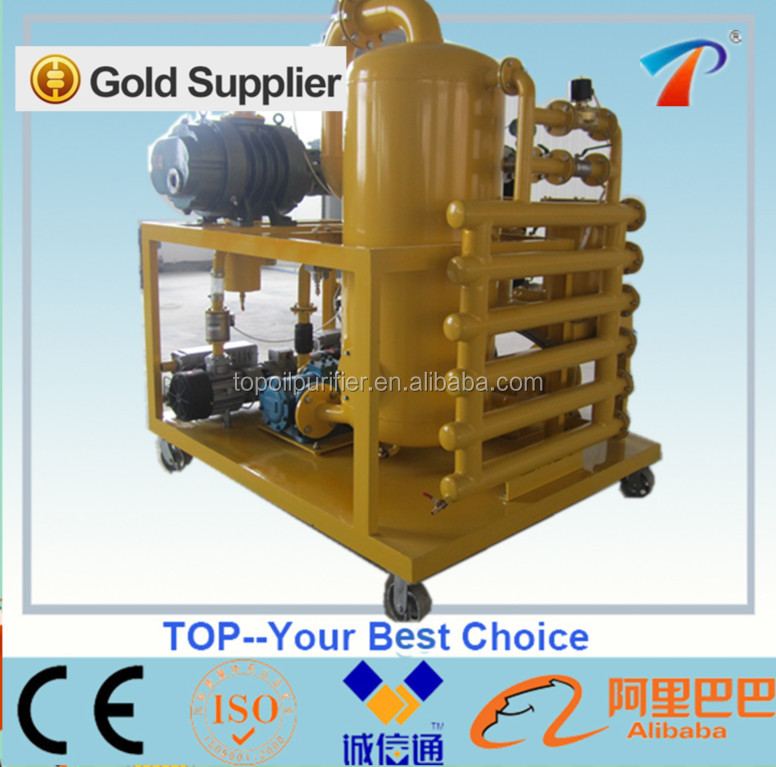 New Condition and CE/ ISO9001 Certification mobile transformer oil purification plant,vacuum degasifier,vacuum filter