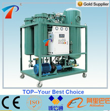 Polymeric material filter aged Turbine Oil purifier apparatus/steam turbine oil filter machine/oil recycling