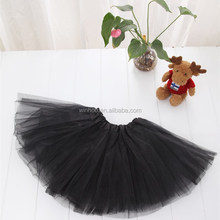 black skirts 3 Layers tutu Tulle Ballet skirt child ballet costume
