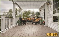 outdoor wood plastic deck wpc composite outdoor deck sheet
