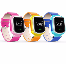 Wrist watch gps tracker kids children gps wrist watch phone q60 kids watch phone
