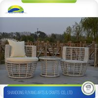 Cheap Coffee Shop Rattan Dinning Set