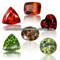 Indian, Mozambique and Zambian Garnet in Loose Stones 8x6 Oval Garnet