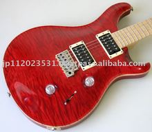 One-Off Used Electric Guitar Paul Reed Smith PRS CE MAPLE TOP 24 25TH Anniversary Limited Model Scarlet Red