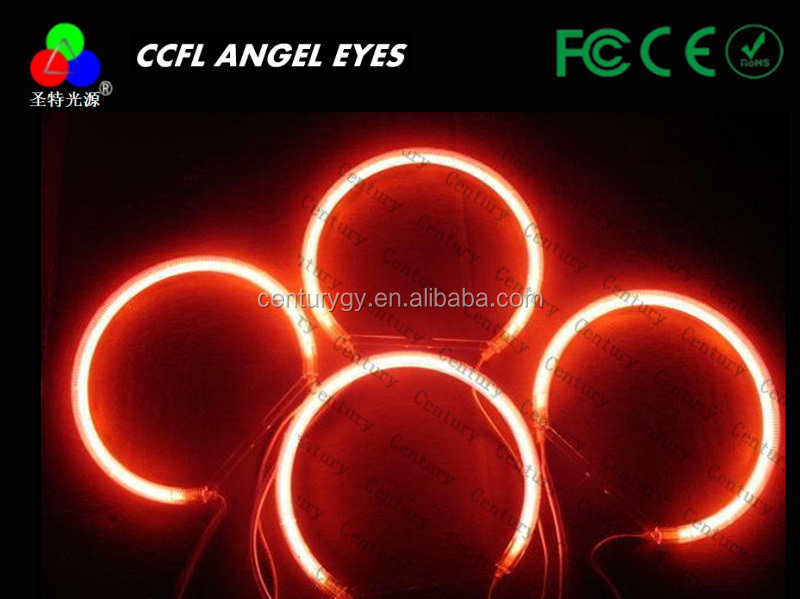 China Supply 4 rings ccfl E46 angel eyes ring 131mm for car projector lens for head lamp for BMW