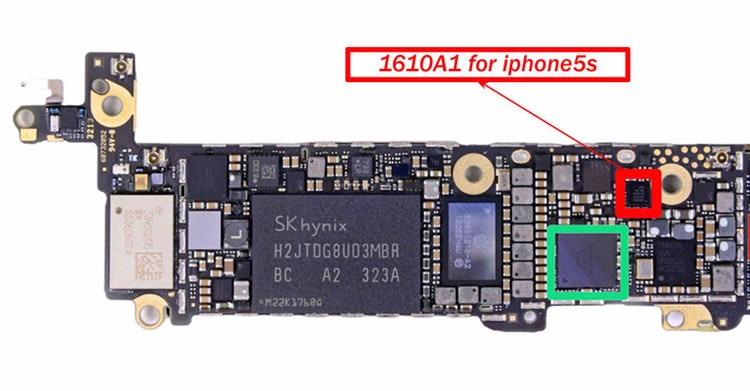 100% <strong>Good</strong> Quality Replacement USB charging IC <strong>U2</strong> 1610A1 for iPhone 5S