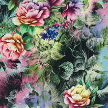 shaoxing digital printing 100% cotton fabric prints for bed sheets