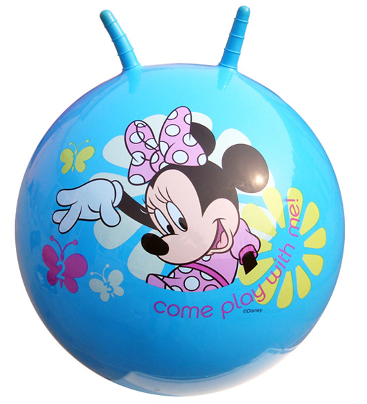 hot sale 45cm Children pvc Toys thickened ballon large bouncing ball Jumping Bumper Ball Jump Ball with The croissa