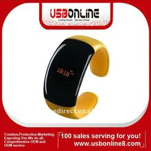 LED Vibration Bluetooth Bracelet 2011 Fashion LED Display with caller ID