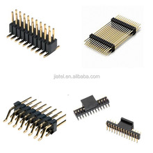 PCB Connectors Gold Plated 2.54mm Pitch 2Pin 3Pin to 40Pin Pin header