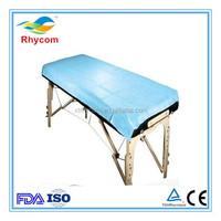 Disposable non-woven examination table cover
