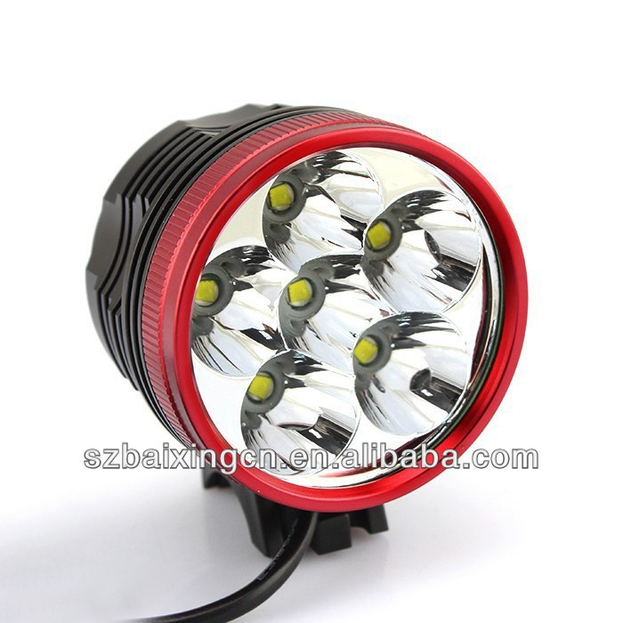 7000LM 6x CREE XML XM-L T6 LED Cycling Bicycle mountain bike light