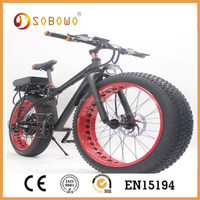 1500W high speed fat tire electric bikes