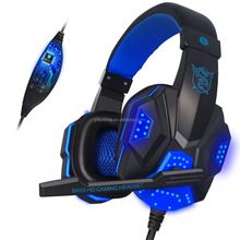 Stereo newest fashion wired gaming headphones fashionable earmuff headphones gaming headset